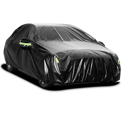 Autoabdeckung Sedan Abdeckplane---5,3m Auto Vollgarage---Phosphoreszierend Autoplane---Wasserdichte schutzhülle Autogarage Auto Plane Garage---Car Cover Sommer