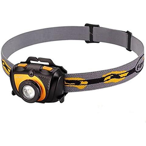 MaMaison007 FENIX XP-G R5 LED 2AA lampada frontale Headlight con cinturino-oro