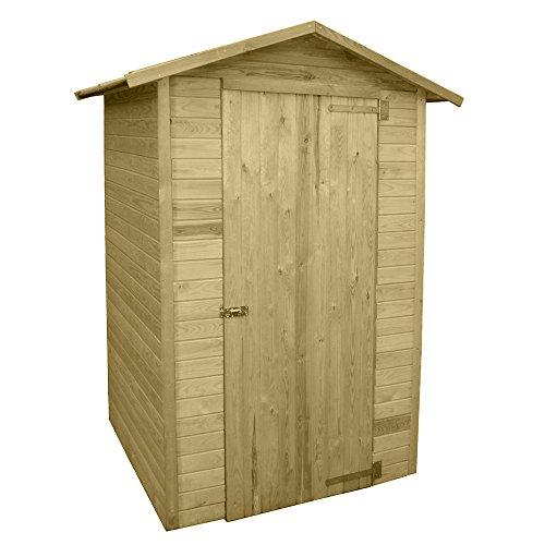 Casetta in legno impregnato in autoclave esterno porta attrezzi ...