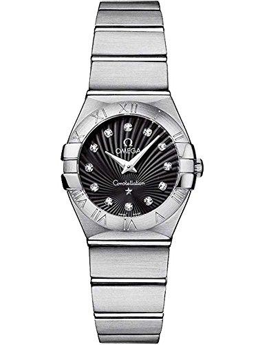 Omega Ladies Diamond Constellation Bracelet Watch 123.10.24.60.51.001