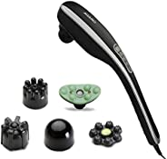 AGARO MARVEL Electric Handheld Full Body Hammer Massager with 5 Massage Heads, 5 mode & 6 speed settings f