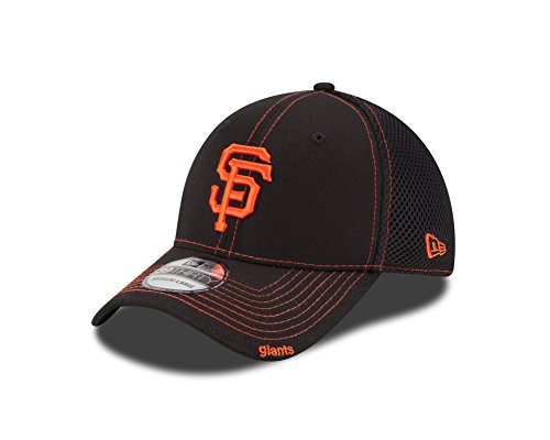 New Era MLB Neo 39THIRTY Stretch Fit Cap, Herren, NEO SAFGIA Team, San Francisco Giants, Small/Medium (New Era Hut-sf)
