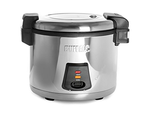 41oLD98QkvL - Buffalo J300 Buffalo Rice Cooker, 13 L Cooked, 52 Portions