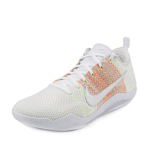 sports shoes 442d3 83f60 Nike Kobe XI Elite Low 4KB, Zapatillas de Baloncesto para Hombre, Blanco  (White