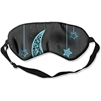 Sleep Eye Mask Moon Star Lightweight Soft Blindfold Adjustable Head Strap Eyeshade Travel Eyepatch E2 preisvergleich bei billige-tabletten.eu