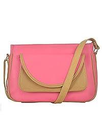 Fostelo Women's Zurich Shoulder Bag (Pink) (FSB-614)