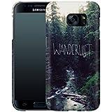 Handyhülle mit Sprüche-Design: Samsung Galaxy S7 Hülle / aus recyceltem PET / robuste Schutzhülle / Stylisches & umweltfreundliches Hard Case - S7 Hüllen: Wanderlust: Rainier Creek von Leah Flores