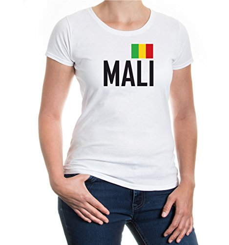 buXsbaum® Girlie T-Shirt Mali White-