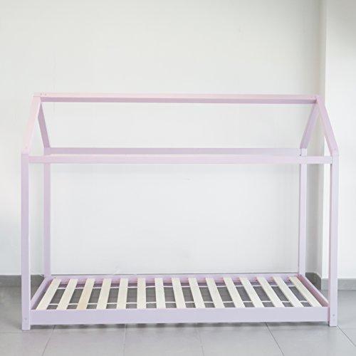 Zoom IMG-1 letto montessori rosa