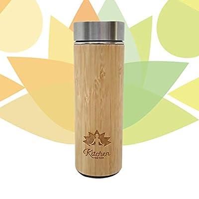 Infuseur/Thermos en Bamboo pour Thé Detox