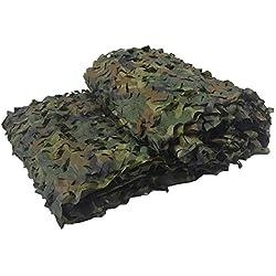 GASSNAKE Filet de Camouflage en Maille pour la Chasse, Les Sports de Plein air, Le Camping, comme auvent, décoration d'intérieur - Neige