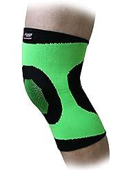 Andux Professional respirant Haute-élastique Sweat-absorbants sécurité Basketball Volleyball Kneepad Knee Support STK-1500