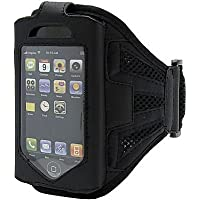 iPhone 4 4S Strong ArmBand Case Cover For SPORTS GYM BIKE CYCLE JOGGING, Tie Phone With Your Arm - by KING OF FLASH