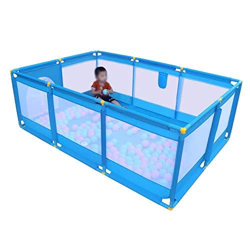 Safe Play Yard Play Pen Mit Spielen Und Toren Für Kleinkinder, Tragbarem, Waschbarem Laufstall, Atmungsaktivem Zaun Für Das Spielen Im Innen- Und Außenbereich (Size : 190x128x66cm)