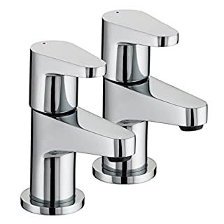 Bristan QST 1/2 C Chrome Plated Quest Basin Taps