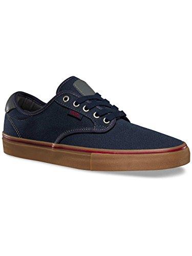 Vans VN-0306I3D, Chaussures de Skateboard Pour Homme Bordeaux - Rouge (covert twill)