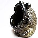 C&S CS Ceramica Grossolana Rana Bruciatore di incenso Decorazione tè Pet Posacenere in Ceramica Piatto Bastoncini di incenso Indietro Incenso Sandalo Incenso Bobina