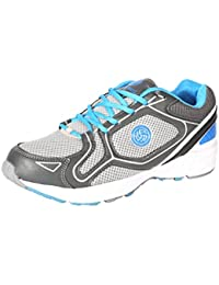 BACCA BUCCI MEN SKY BLUE LYCRA AND MESH SPORT SHOES