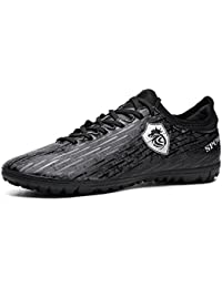 WAWEN Chaussures de Football Athlétique Adolescent Chaussures d'entraînement Chaussures de Foot Sports Chaussures de Course