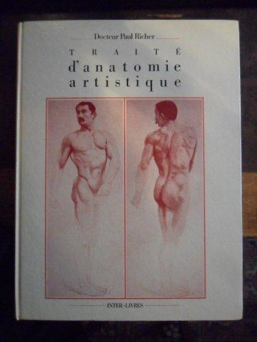 Anatomie artistique : Description des formes exterieures du corps humain au repos et dans les principaux mouvements par Paul Richer
