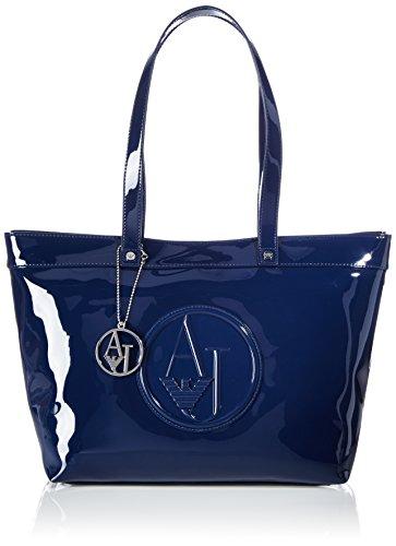 Armani Jeans 0525ARJ 0525ARJ Damen Shopper 44x28x15 cm (B x H x T), Blau (BLU - BLUE 50)