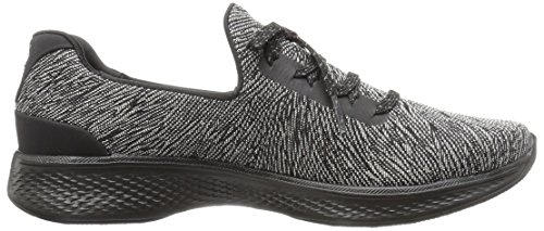 Skechers 14176/BKGY Slip-on Schuhe Damen Black / Grey
