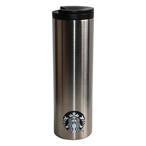 Starbucks Edelstahlthermobecher Tumbler Tea Kaffeebecher Teebecher silber 16oz/473ml