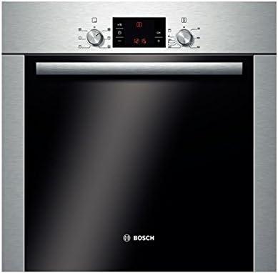 Bosch HBA23B253 Electric oven 67L 3000W A Negro, Acero inoxidable - Horno (Electric oven, 67 L, 3000 W, Negro, Acero inoxidable, Giratorio, Electrónico)