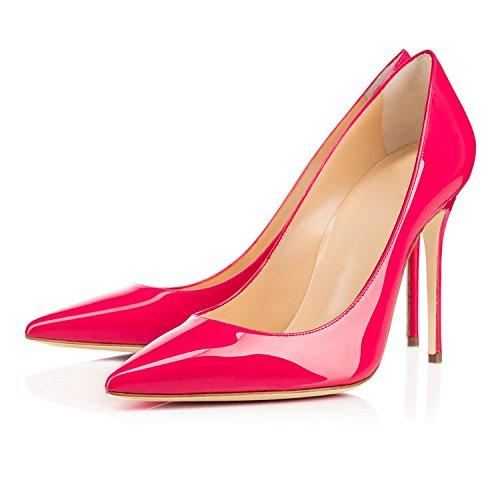 EDEFS - Scarpe da Donna - Estate Scarpe Donna con Tacco Eleganti - 10CM Rose