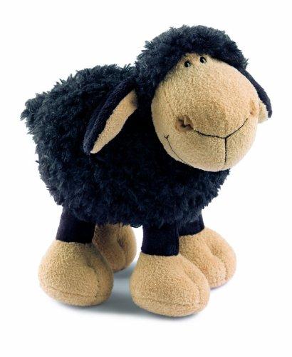 24693 - NICI - Schaf Jolly Mäh, 25 cm, schwarz, stehend (Schwarzes Schaf Plüschtier)