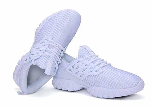 Uomini Scarpe da ginnastica scarpe sportive 2017 autunno scarpe da corsa traspiranti scarpe da esterno White