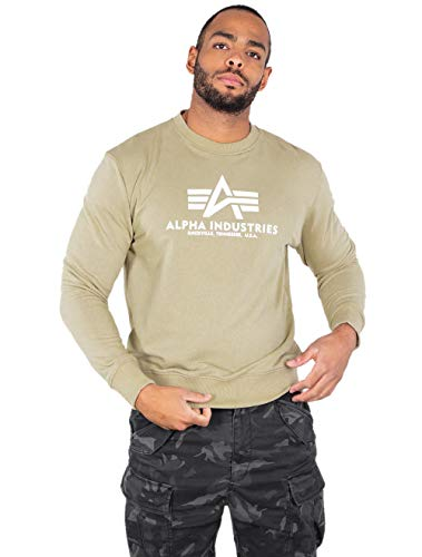 Alpha Industries Basic Sweatshirt Hellgrün M