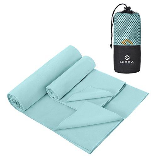 Mikrofaser Handtücher in ALLEN Größen / 8 Farben – klein, leicht und ultra saugfähig - das perfekte Sporthandtuch, Reisehandtuch, Microfaser-Badetuch, XXL Strandhandtuch, Sauna Microfaser Handtuch