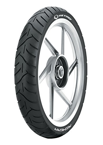 TVS Tyres ATT455 90/90-17 49P Tubeless Bike Tyre, Front