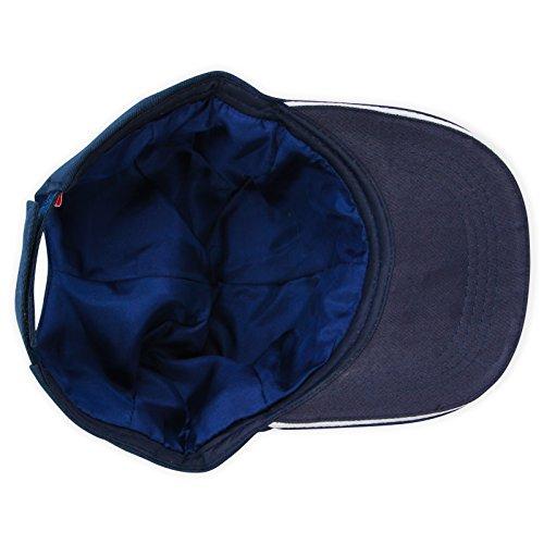 100 Heilmittel (White Lotus Anti Aging - mit 100 % Seide gefütterte Base-Cap - reduzieren Sie Schäden an dünnem und krausem Haar und helfen Sie Ihrem Haar, sich zu regenerieren Marineblau)
