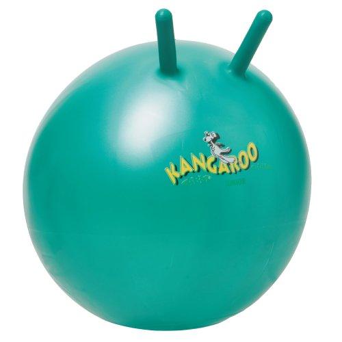 Togu Kangaroo Ball ABS Sprungball platzsicher, türkis, 60 cm