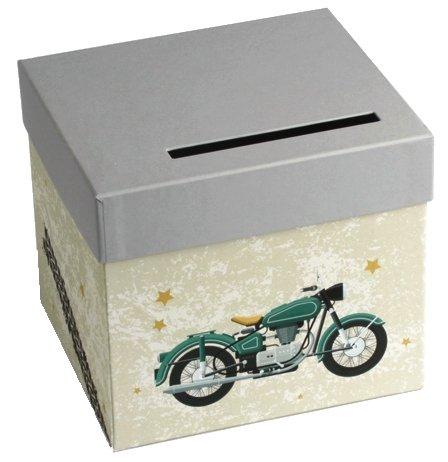 Urne Karton Motorrad Vintage (Motorrad-urne)