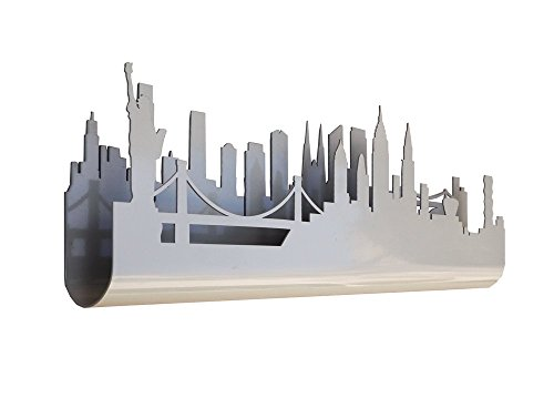 Skyline 3.03 Perchero Decorativo de Pared, diseño New York