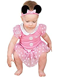 Disney Minnie Mouse Bodysuit with Headband - Age 3-6 Months