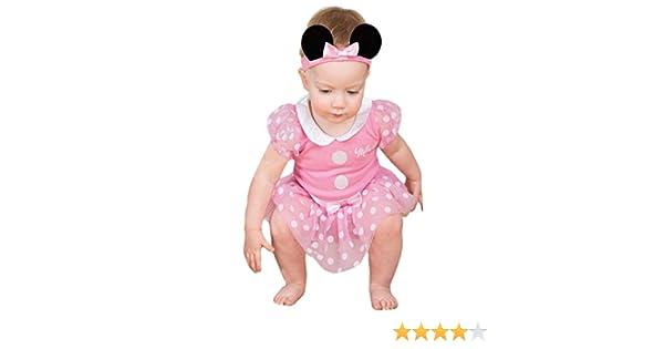 Costume//grenouill/ère b/éb/é officielle Disney Minnie Mouse Taille 0-3 mois