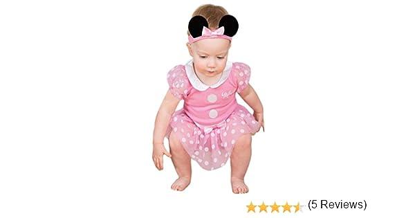 Taille 3-6 mois Costume b/éb/é officielle Disney Minnie Mouse