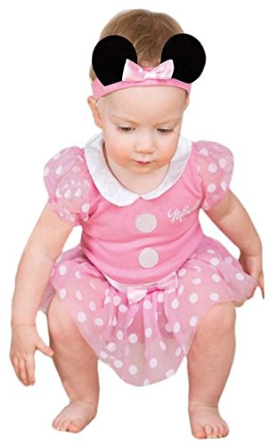 Kleid bis Minnie Maus Infant Kostüm, pink, - Rosa Minnie Baby Kostüm