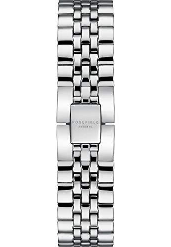 Rosefield Damen-Uhrenarmbänder One Size Silber 32000950