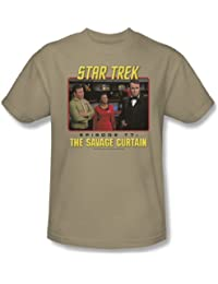 Star Trek - St / The Savage Curtain Adult T-Shirt In Sand
