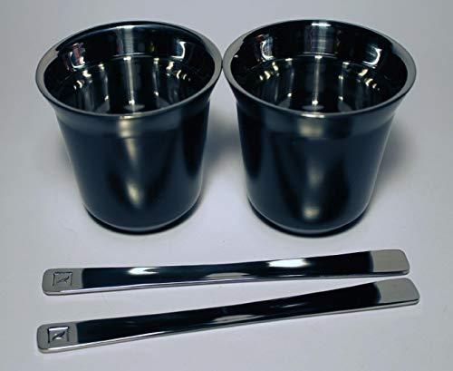 NESPRESSO Pixie Metall Becher Tasse - Grün (Fortissio Lungo) ... (Ristretto (schwarz)) - Espresso-metall
