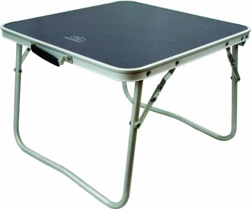 Highlander  Kleiner Campingtisch Folding Table, silber, S, FUR075