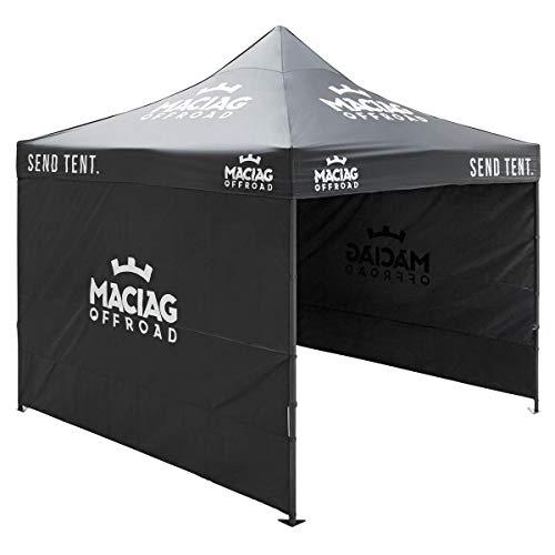 Maciag Offroad Rennzelt 3x3 m Send Tent. Schwarz