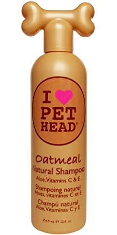 Company of animals Pet Head-Oatmeal Shampooing pour Chien 354 ml