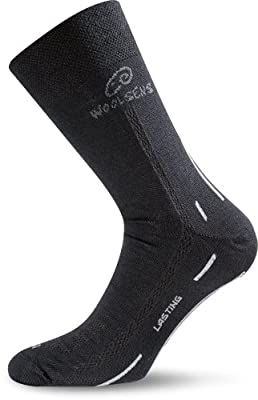 Lasting Sport WLS-900 Merino Trekking Socke schwarz/rot von Lasting bei Outdoor Shop