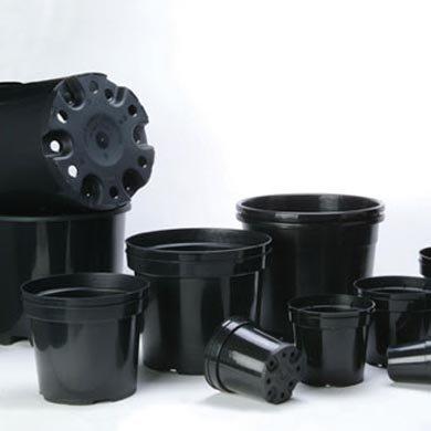 10-Litre-Plastic-Plant-Pots-Black-Round-Pack-of-10-a401